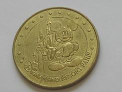 Monnaie De Paris - DISNEYLAND 2006 M - Resort Paris N°1 - Le Cjateau Et Mickey    **** EN ACHAT IMMEDIAT  **** - Monnaie De Paris