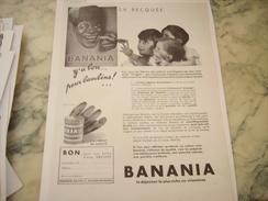 ANCIENNE PUBLICITE LA BECQUE BANANIA Y A BON POUR BAMBIN 1933 - Posters