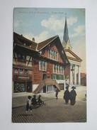 Austria Dornbirn 430m ( Vorarlberg ) Rotes - Haus - Stengel 1913-Dresdn 44807 - Oostenrijk