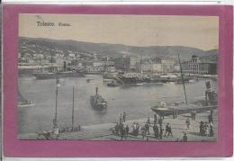 TRIESTE .- Porto - Trieste