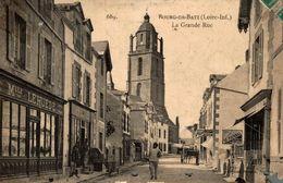 BOURG DE BATZ LA GRANDE RUE - Frankrijk