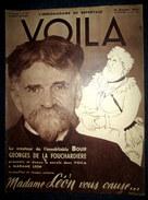 VOILA 291 ALPINISME Montagne Eiger Photo Brassai Steiner MUSIC HALL Paris Folies Bergères J. Baker Earl Carroll 1936 - Livres, BD, Revues
