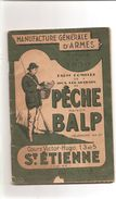 Manufacture Générale D' Armes Maison BALP  Tarif Complet De Tous Les Articles De Pêche ( Complet 94 Pages )  Réf 3189 - Chasse/Pêche