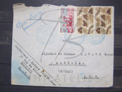 VEND TIMBRES DE LA COTE FRANCAISE DES SOMALIS N° 242 EN PAIRE + 279 SUR FACADE !!! - Côte Française Des Somalis (1894-1967)