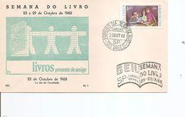 Brésil -Semaine Du Livre ( FDC De 1968 à Voir) - Brazil