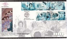 5 Enveloppes Commémoratives - Indonesia