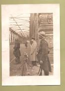 Strasbourg Photo De Presse 1914 1918 Pont De Kehl Bridge - Soldat Français - Guerra, Militari