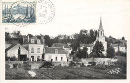 """CPSM FRANCE 37 """"Saint Etienne De Chigny, Place De L'église, Le Pont De Bresme"""" - Other Municipalities"""