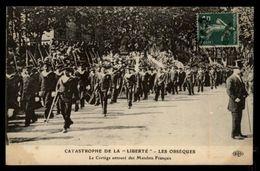 MARINE DE GUERRE - Marine Militaire - Catastrophe Du LIBERTE - Obsèques - Matelots - Marins - Guerra