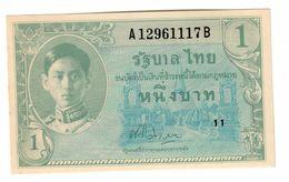 Thailand 1 Baht 1946 UNC - Tailandia