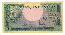 Indonesia 5 Rupiah 1957 UNC - Indonesia