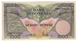 Indonesia 1000 Rupiah 1959 UNC/AUNC - Indonesia