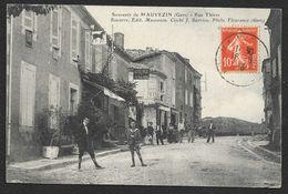 MAUVEZIN Rare Rue Thiers (Simorre Barrieu) Gers (32) - Castera