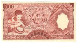 Indonesia 1000 Rupiah 1958 UNC - Indonesia