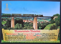 OLD POSTCARD - CP - MUSEUMSBAHN MUTACHTAL - UNPOSTED UNCIRCULATED - Trenes