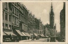 AK Danzig Gdańsk, Langgasse, Ca. 1920er Jahre (21774) - Danzig