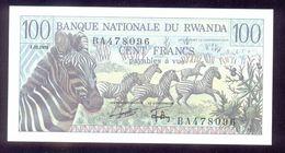 Rwanda 100 Francs 1978 P12 UNC - Rwanda