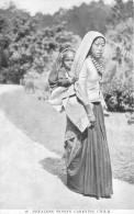 TIBET / Nepalese Woman Carrying Child - Tibet