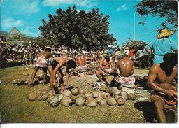 CPM/CPSM - POLYNESIE FRANCAISE - TAHITI - Concours De Préparation Du Coprah, Fête Du 14 Juillet - Polynésie Française