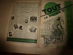 1949 TLSD :Faire: Vélo électrique;Rouler Fioul à Moto;Bateau-bouteille;Poêle à Sciure;Curieux Moteur élec;Déco-bois;etc - Bricolage / Technique