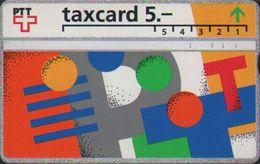 L&Gyr Optical Phonecard,logo Of P&T,used - Schweiz