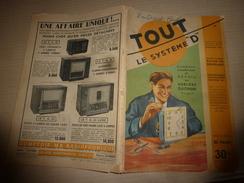 1951 TLSD :Faire: Pressoir Familial;Polir Le Marbre;Jouet Articulé;Argenture Du Verre;Frein Automatique;Mandoline; Etc - Bricolage / Technique