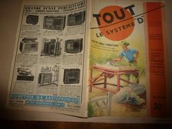 1951 TLSD :Faire: Table Vibrante;Travail De L'osier; - Bricolage / Technique