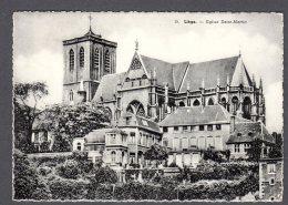 1958 LIÉGE Eglise Saint-Martin FG V SEE 2 SCANS - Liège