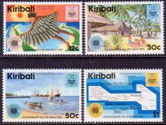 KIRIBATI 1983 SG #197-200 Compl.set MH Commnwealth Day - Kiribati (1979-...)