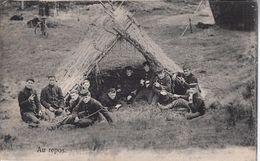 Rust Tijdens De Oefening - Leopoldsburg (Camp De Beverloo)