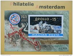 Hungary 1972, IMPERF / APOLLO 15 / SPACE RAUMFAHRT ESPACE: Mi 2729, Bl. 87 B, ** - Ruimtevaart