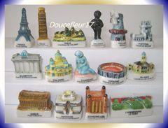 Monuments D'Europe ... Série Complète De 15 Fèves .. Ref AFF : 93-2002 ( Pan 0027) - Countries