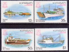 KIRIBATI 1984 SG #219-22 Compl.set MH Kiribati Shipping Corporation - Kiribati (1979-...)
