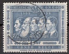 301 Congo Belga 1948 Re Del Belgio  Belge Belgisch Belgian Used - Congo Belge