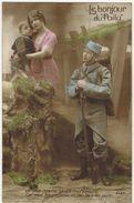 MILITARIA GUERRE 14/18 Le Bonjour Du Poilu Je Vous Reverrai Bientôt Mes Amours Perpignan Caserne Esplanade - Guerre 1914-18