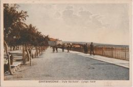 Bg - Cpa CIVITAVECCHIA - Viale Garibaldi - Lungo Mare - Civitavecchia