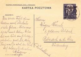 Generalgouvernement 1940. Petrikau/Polen - Deutschland