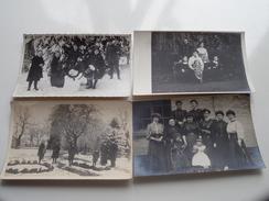 Familiefoto Periode W.O.1 - STEENBERGEN Nederland 1914/20 Ivm Fam. Naegels Antwerpen/Borgerhout ( 20 Stuks ) ! - Pays-Bas