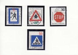Mi.Nr. 665-668 Neue Regel Im Straßenverkehr - Gebraucht