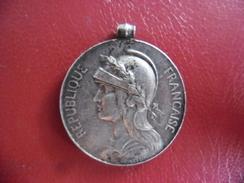 Médaille Militaire Coloniale En Argent Poinçon Sur La Tranche 14 Grammes - Frankreich