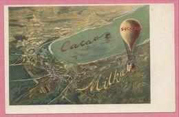 Carte Publicité - CACAO MILKA SUCHARD - Ballon - Carte N° 3 - Publicidad