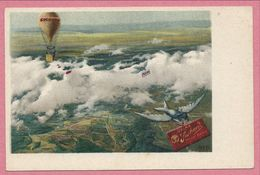 Carte Publicité - CHOCOLAT VELMA SUCHARD - Ballon - Carte N°11 - Publicidad