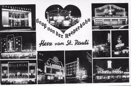 2000 HAMBURG  -  ST. PAULI, GRUSS VON DER REEPERBAHN    ~ 1950 - Allemagne