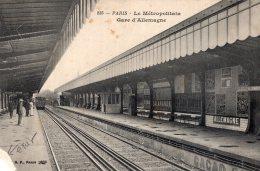 V10955 Cpa 75 Paris - Le Métropolitain, Gare D'Allemagne - Unclassified