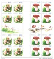 2013. Armenia, Mushrooms, 2 Sheetlets, Mint/** - Armenia