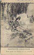 Themes Div -ref T305- Guerre 1914-18- Illustrateurs - Illustrateur - Costante Garibaldi Mort Pour La France - - Guerra 1914-18