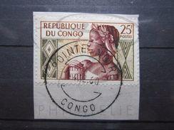 """VEND TIMBRE DE LA REPUBLIQUE DU CONGO N° 135 , CACHET """" POINTE NOIRE """" !!! - Afgestempeld"""