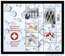 Belgium 2017 Mih. 4738/42 (Bl.214) Medical Breakthroughs MNH ** - Neufs