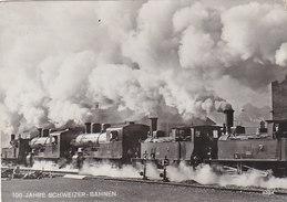Lokomotivzug Der SOB 1938 Bei Samstagern - Werbestempel        (P-64-10702) - Trains