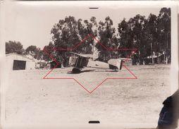Photo 1925 CONSTANTINE (Algérie) - Un Avion Bréguet Limousine 14 (XIV) Au Camp D'aviation (A175) - Aviation